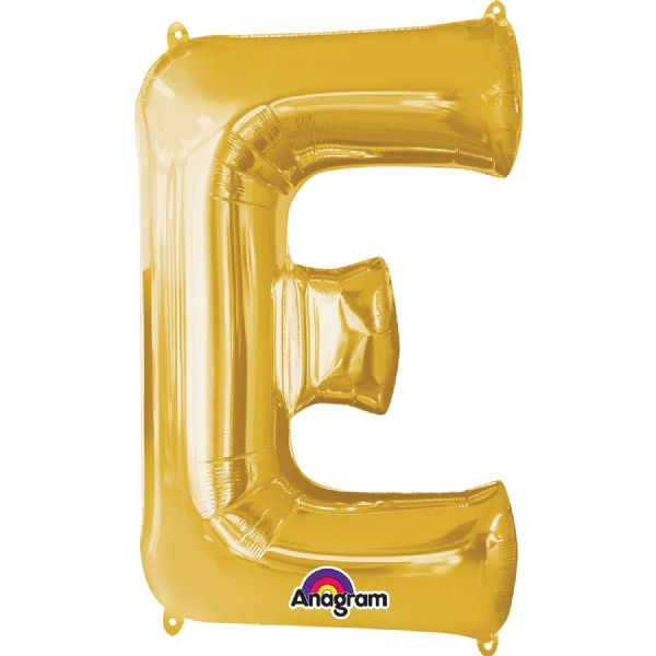 SuperShape Letter E - Gold
